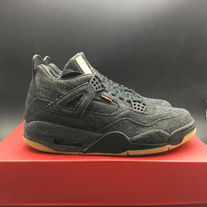 "Levi's x Air Jordan 4 Retro NRG ""Black Denim"" AO2571-001"