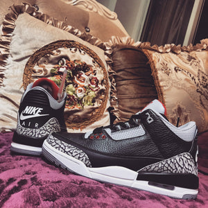 "Air Jordan 3 OG ""Black Cement"" 854262-001"