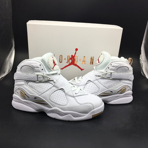 "Air Jordan 8 Retro OVO ""WHITE"" AA1239-135"