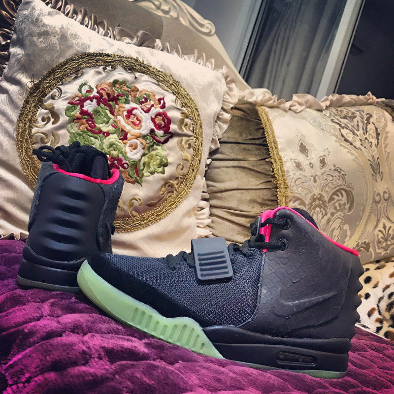 Air Yeezy 2 NRG Black Solar Red 508214-006