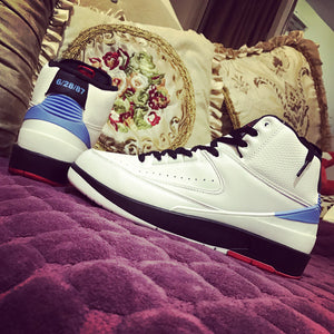 "Air Jordan 2 Retro ""Alumni UNC"" 917360-105"