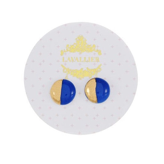 Blue domed studs Dip