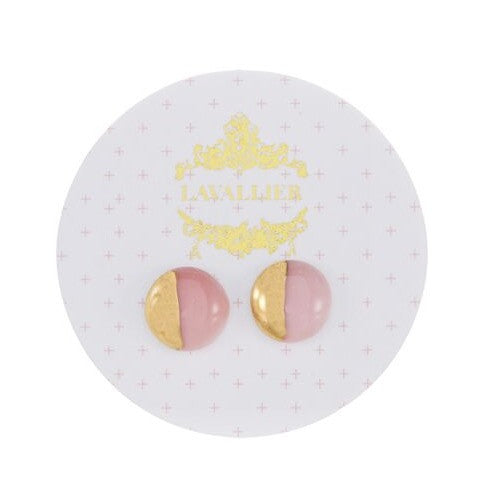 Pink domed studs dip