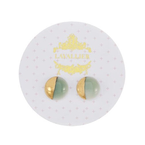 Green domed studs dip