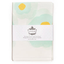 Tea towel green