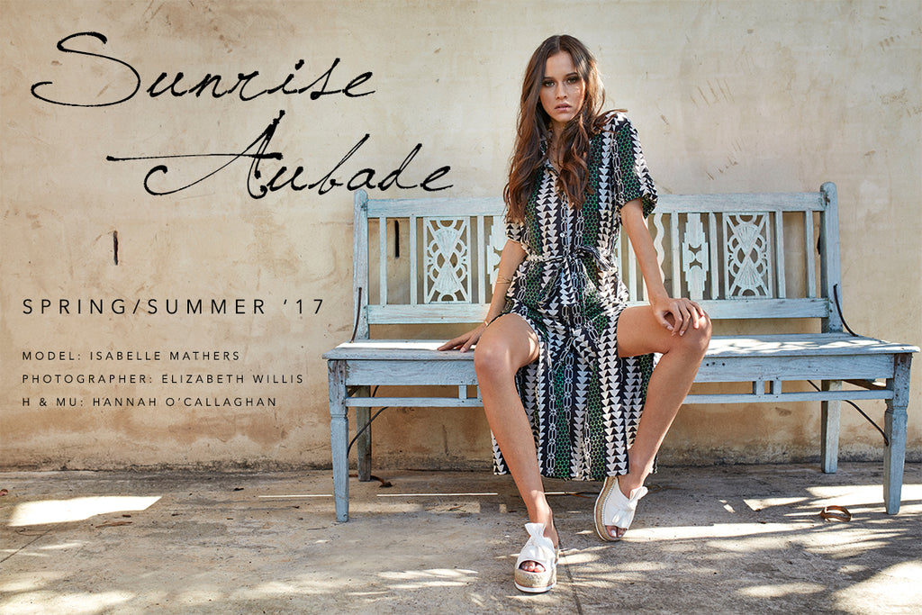 Sunrise Aubade - Spring/Summer 2017