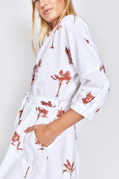 Solito Last Island Shirt Dress