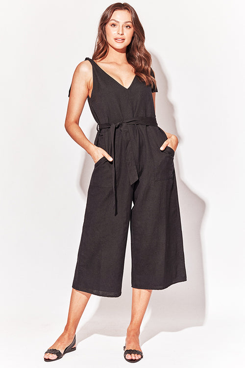 MONTPELLIER JUMPSUIT BLACK