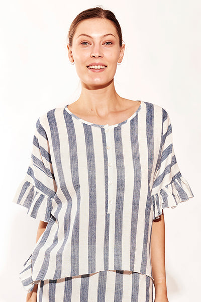 HARBOUR FRILL TEE