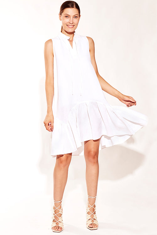 RACQUET CLUB DRESS WHITE