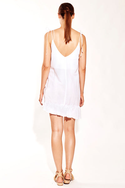 RUFFLE SINGLET DRESS