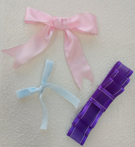 How to make Basic Bows out of Ribbon