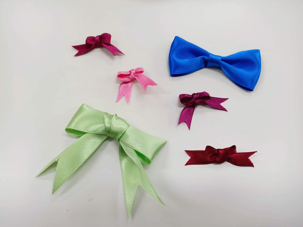 Satin Hair Bows