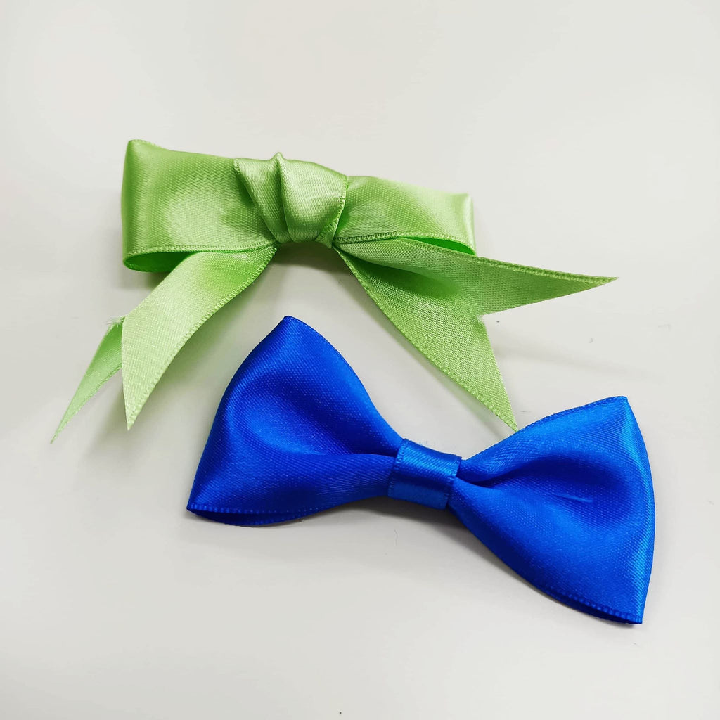 French Satin Hair Bows