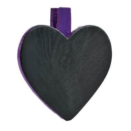 Heart blackboard placecard cherry decorations crafts diy