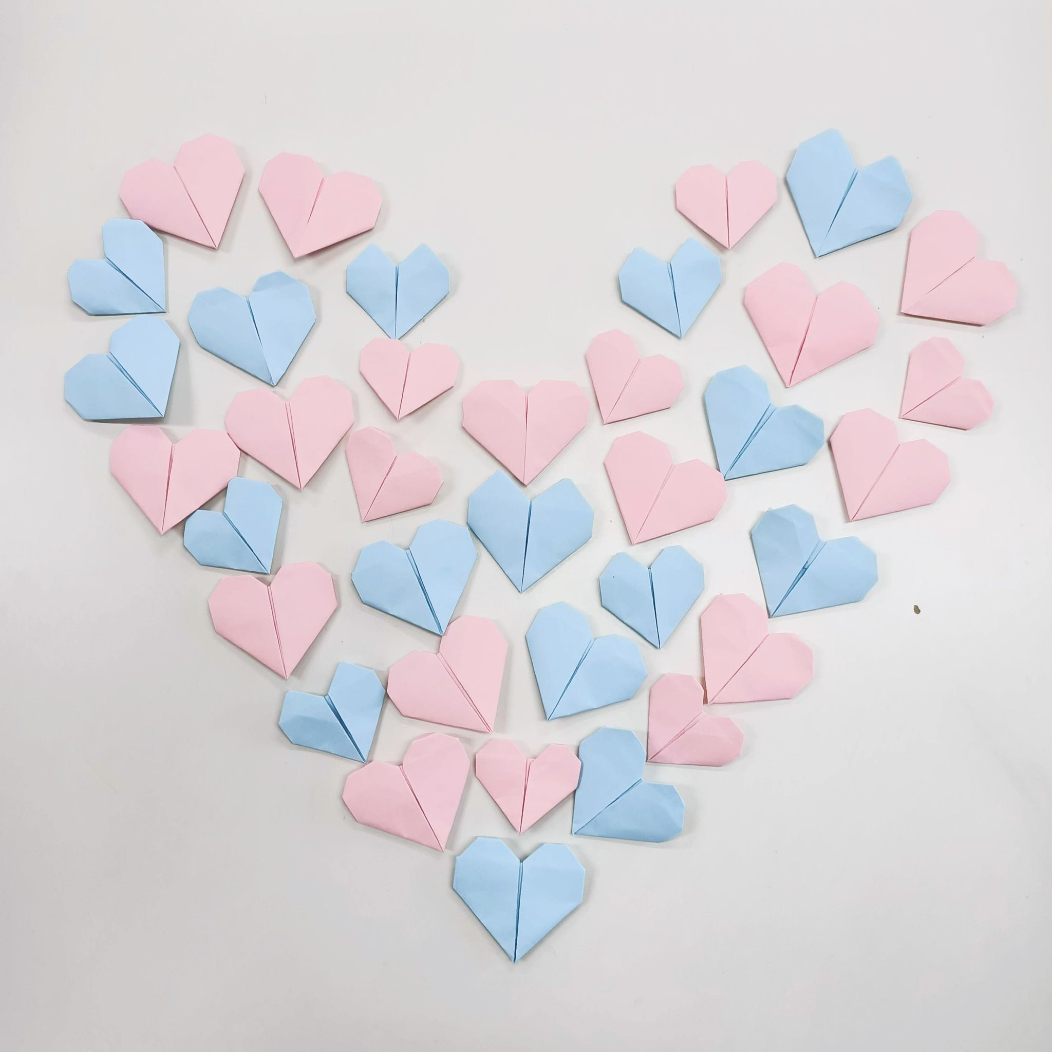 Heart Origami Love Letters Valentines Day DIY Craft