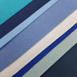 French Grosgrain by Meter Blue