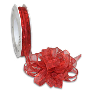 Pull Up Ribbon 20M-15MM-Red