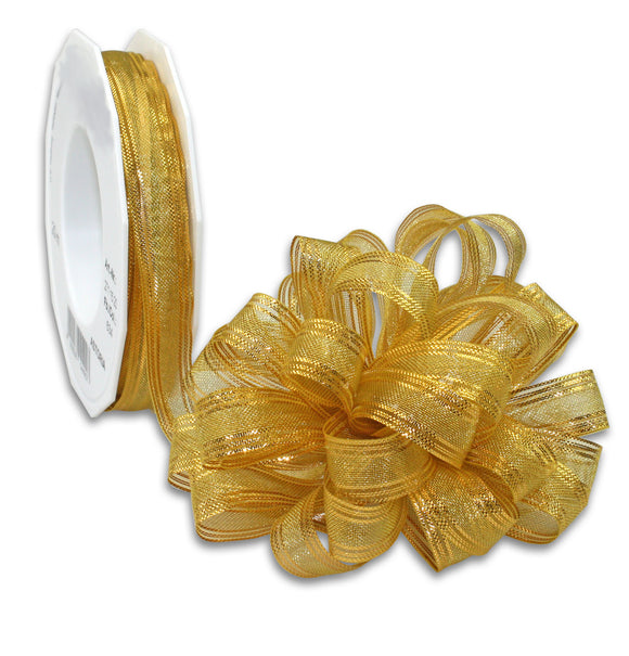 Pull Up Ribbon 20M-15MM-Gold