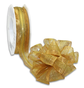 Pull Up Ribbon 20M-25MM-Gold