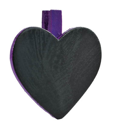Heart Blackboard Placecard 06P-017-S ($1.51/pc)
