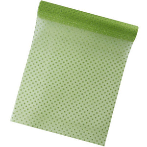 Organza Polkadot Table Runner 5M-30CM-010-S ($3.63/m)