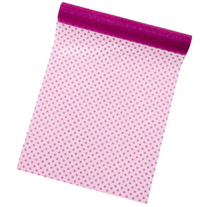 Organza Polkadot Table Runner 5M-30CM-015-S ($3.63/m)