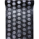 Glitter Polkadot Table Runner 5M-30CM-011-S ($3.63/m)