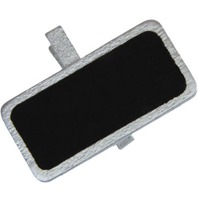 Metallic Rectangular Blackboard Placecard Peg 12P-004-S ($0.60/pc)