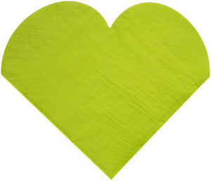 Serviette Heart Shaped 20P-010-S ($0.32/pc)