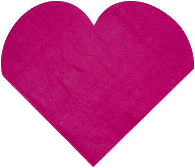 Serviette Heart Shaped 20P-015-S