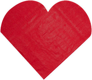Serviette Heart Shaped 20P-007-S ($0.32/pc)