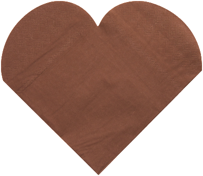 20 Heart Shaped Serviette ($0.32/pc)