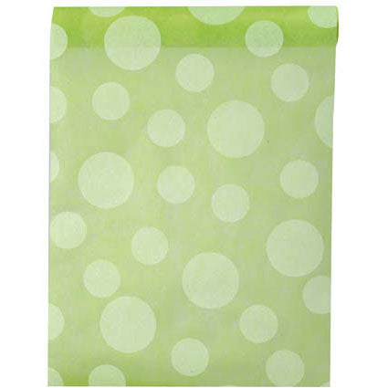 Polkadot Table Runner 5M-30CM-010-S ($2.17/m)