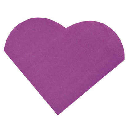 Small Heart Napkin 20P-017-S