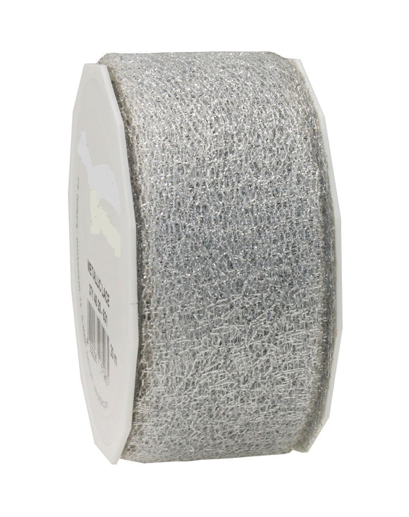 Metallic Lace 371-20M-40MM-Silver