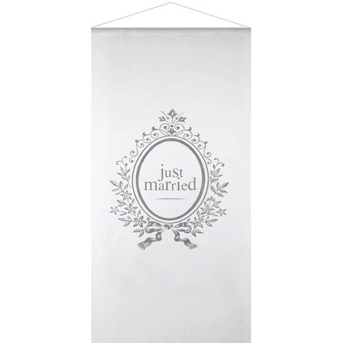 Just Married' Kakemono Wall Hanging