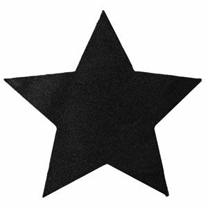 Glittered Star Place Mat 02P-011-S ($3.41/pc)