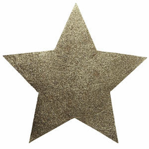 Glittered Star Place Mat 02P-003-S ($3.41/pc)