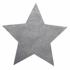 Glittered Star Place Mat 02P-004-S ($3.41/pc)