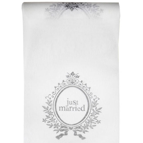 5m Just Married' Table Runner ($2.35/m)