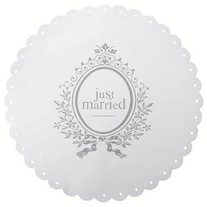 Just Married' Place Mat