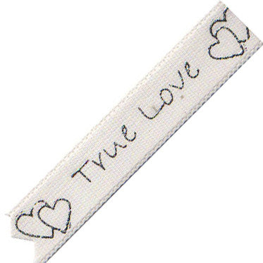 True Love Print Ribbon 10MM