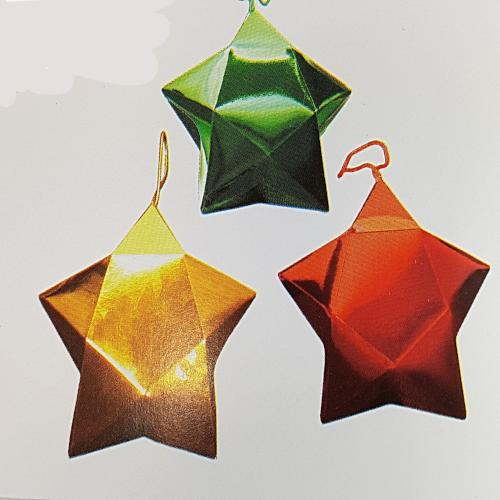 XMas Star Boxes (3 pcs) (RRP $3.18)