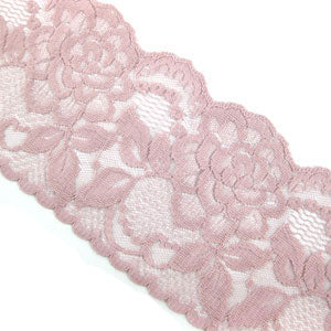 Rose Raschel Lace 20M-80MM-ROSE