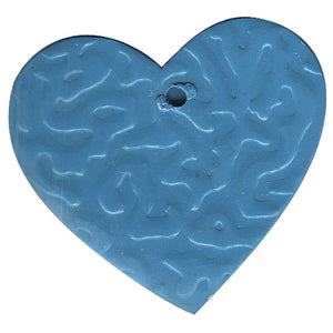 Tin Heart C-2000-100pcs Blue (RRP $4.5)