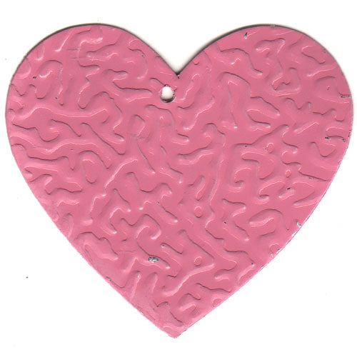 Tin Heart C-2001-100pcs Pink (RRP $4.5)