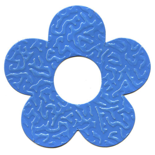 Gifttag Tin Flower - Blue