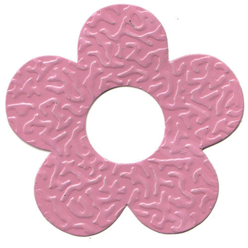 100pcs Gifttag Tin Flower - Pink ($0.05/pc) (RRP $4.5)