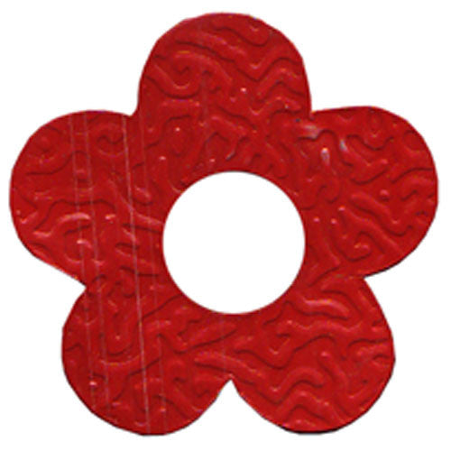 100pcs Tin Flower C-2011 Red (RRP $4.5)